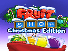 Аппарат Fruit Shop Christmas Edition в казино