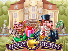 Автомат Piggy Riches доступен в игровом клубе Платинум